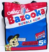 BAZOOKA JOE Shopper Schoudertas Vintage Jaren 50 Retro Chewing Gum Ad