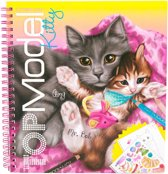 Kleurboek Create your Kitty Top Model