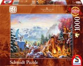Disney Ice Age, 1000 pcs Legpuzzel