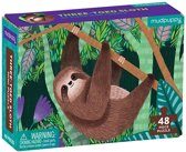 Mudpuppy 48 PC Mini Puzzle - Three-Toed Sloth