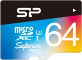 Silicon Power 64GB microSDXC 64GB MicroSDXC UHS-I Class 10 flashgeheugen