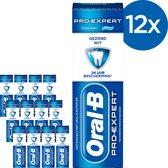 Oral B Pro-Expert Gezond Wit - Voordeelverpakking 12 x 75ml - Tandpasta