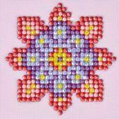 Diamond Dotz ® painting Flower Mandala 2 (7,6x7,6 cm) - Diamond Painting