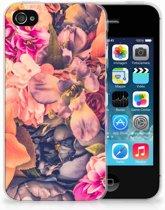 iPhone 4 | 4s  TPU-siliconen Hoesje Design Bosje Bloemen
