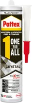 Pattex One for all Crystal - Montagekit - Montagelijm - 290gram