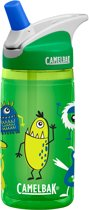 CamelBak Eddy Kids insulated-Drinkfles-400 ml-Groen (Green Cyclopsters)