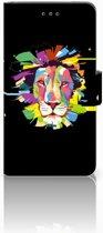 Nokia 7 Uniek Boekhoesje Lion Color