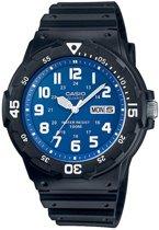 Casio MRW-200H-2B2VEF - Horloge - Kunststof - Zwart - Ø 48 mm