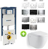Geberit Duofix Sigma UP320 112H toilet set met Hanson One-Pack Design 55 cm