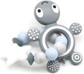 siliconen bijtring voor baby's - Kraamcadeau - Doorkomende tandjes 3 tot 12 maanden - bijtketting - kauwketting