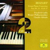 Piano Concerto 20, 21, 25, 27