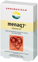 Springfield MenaQ7 - Vitamine K2 - 60 tabletten