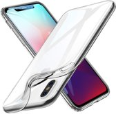 MMOBIEL Bescherm set Soft TPU Siliconen Hoesje + Screenprotector Tempered Glass - Case - Back Cover - Skin - Ultra Dunne en Transparante Bescherming voor iPhone XS Max