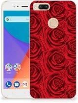Xiaomi Mi A1 TPU Case Rood Rose