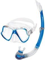 Mares Wahoo snorkelset Blauw