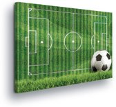 Football Canvas Print 100cm x 75cm