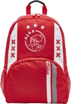Ajax-rugtas klein wit-rood-wit logo