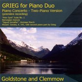 Grieg: Music For Piano Duet