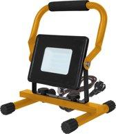 V-tac VT-4230 LED werkverlichting / bouwlamp - 30 W - 2550 Lumen - Zwart / geel