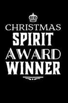 Christmas Spirit Award Winner