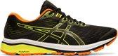 Asics GT-1000 7 Sportschoenen - Maat 46.5 - Mannen - zwart/ geel/ oranje