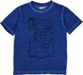 Blue Seven Jongens T-shirt - Blauw - Maat 104