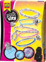 SES Pink City geluksarmbandjes