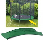 Trampoline rand afdekking - 305 cm diameter - groen