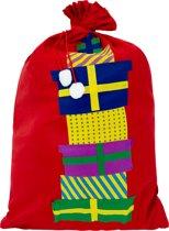 Cadeau zak Pakjes 60x90 cm
