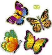 Decoratieve vlinders