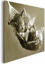 REINDERS Keith Kimberlin hangmat - Schilderij - 90x60cm