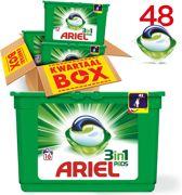 Ariel Regular 3in1 Pods - Kwartaalbox 48 Wasbeurten - Wasmiddel Capsules