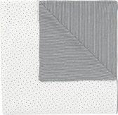 Noppies Ledikantdeken - Grijs -120x120 cm