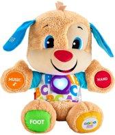 Fisher-Price Leerplezier Eerste Woorden Puppy - Interactieve Knuffel