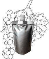 Druivenpitolie in navulling 100ml pouch met schenkmond (hersluitbaar)