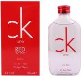 Calvin Klein One Red Edition 100 ml - Eau de toilette - Damesparfum