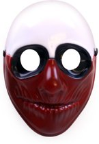 Masker hard plastic Blood face Halloween