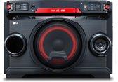 LG OK45 Home audio-minisysteem Zwart, Rood 220 W