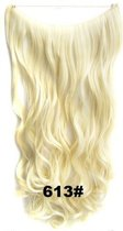 Wire hairextensions wavy blond - 613#