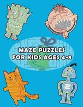 Maze Puzzles for Kids Ages 4-8