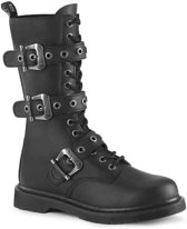 Demonia Laarzen -37 Shoes- BOLT-330 Zwart