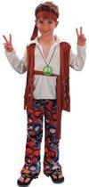Hippie kostuum voor jongens 120-130 (7-9 jaar)