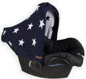 Baby's Only zonnekap Maxi-Cosi / autostoeltje 0+ Ster marine / wit