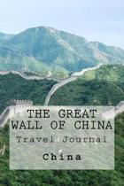 The Great Wall of China Travel Journal