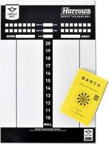 Longfield Darts Scorebord Met Spelregelboek