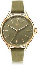 Ice-Watch IW013056 Horloge - Leer - Groen - 38 mm