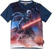 Star-Wars-T-shirt-met-korte-mouw-grijs-maat-116