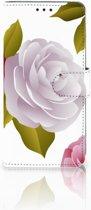 Huawei P30 Pro Uniek Boekhoesje Roses