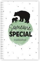 Someone special - kraambezoekboek