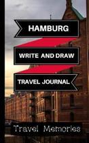Hamburg Write and Draw Travel Journal